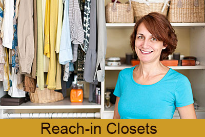 Reach-in Closets