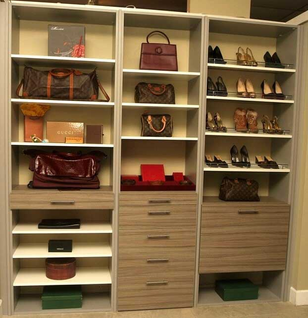 Upstairs Bedroom Closet That Needs Better Organization